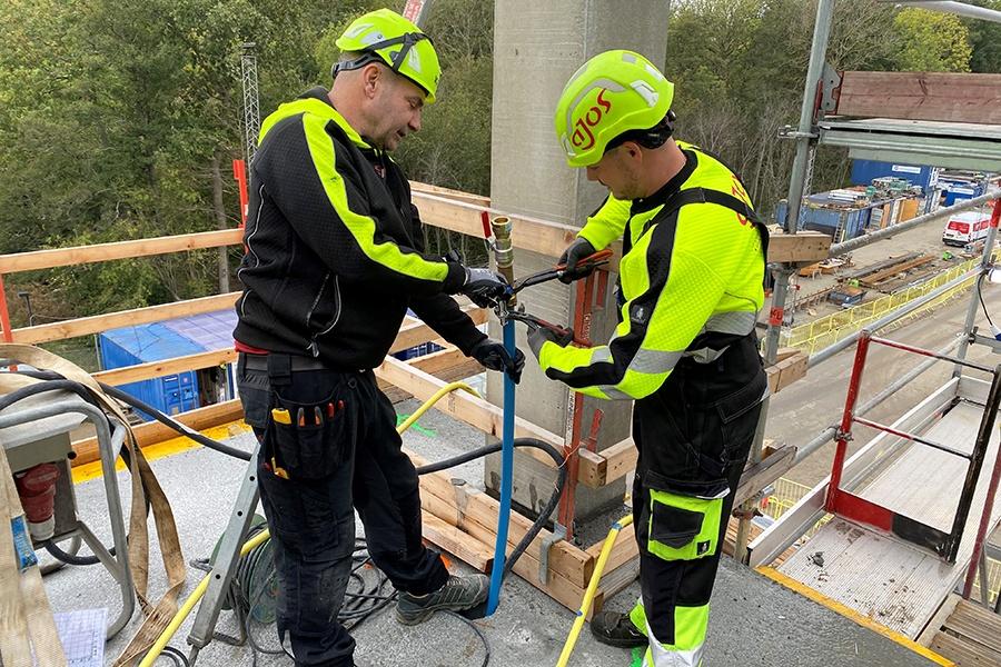 Ajos a/s sikrer strøm, vand og varme til Nyt SUND i Odense