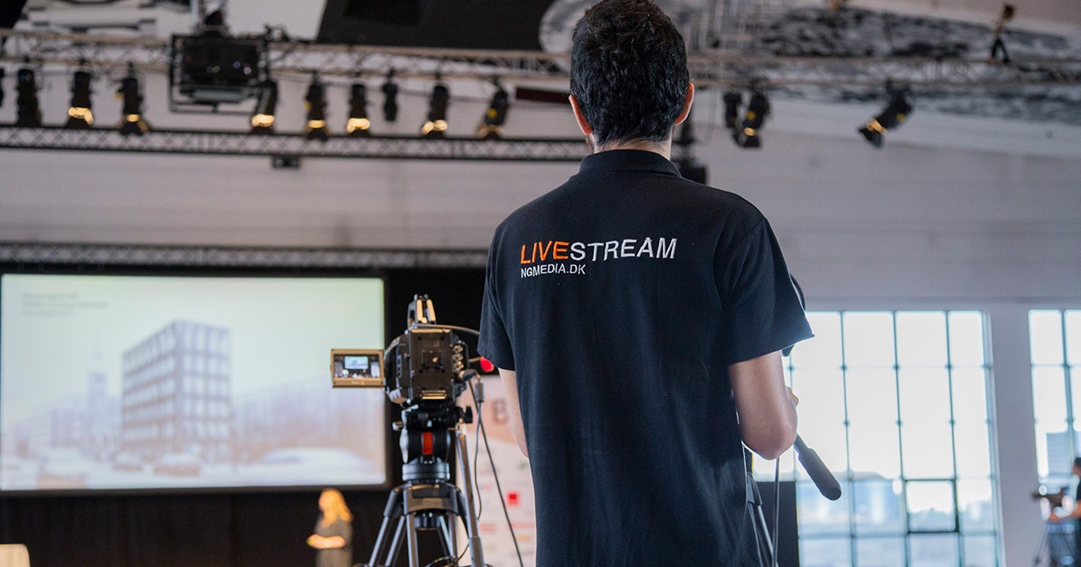 Stream programmet og vær med på første række