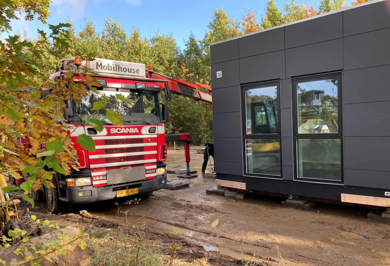 Mobilhouse leverer pavilloner til Brandskadet naturcenter