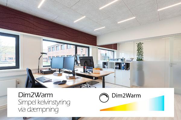 Dim2Warm - Den simple måde at montere kelvin-reguleret lys