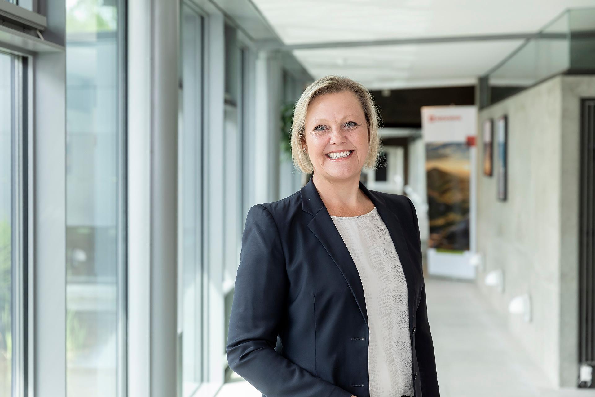 Forretningsdirektør Nina Dencker Nielsen fylder 50 år