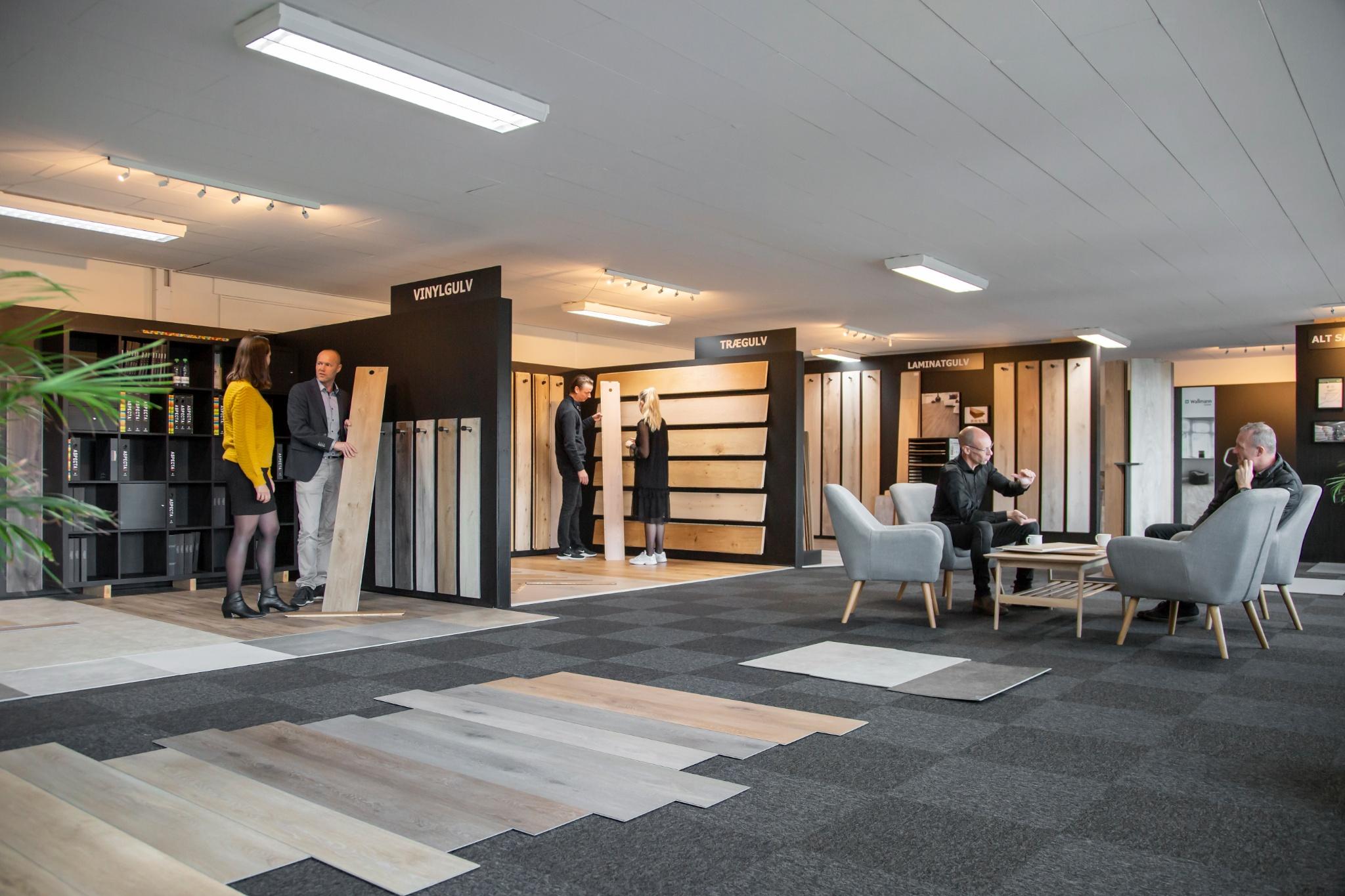 Tag et kig i vores showroom hos Wallmann