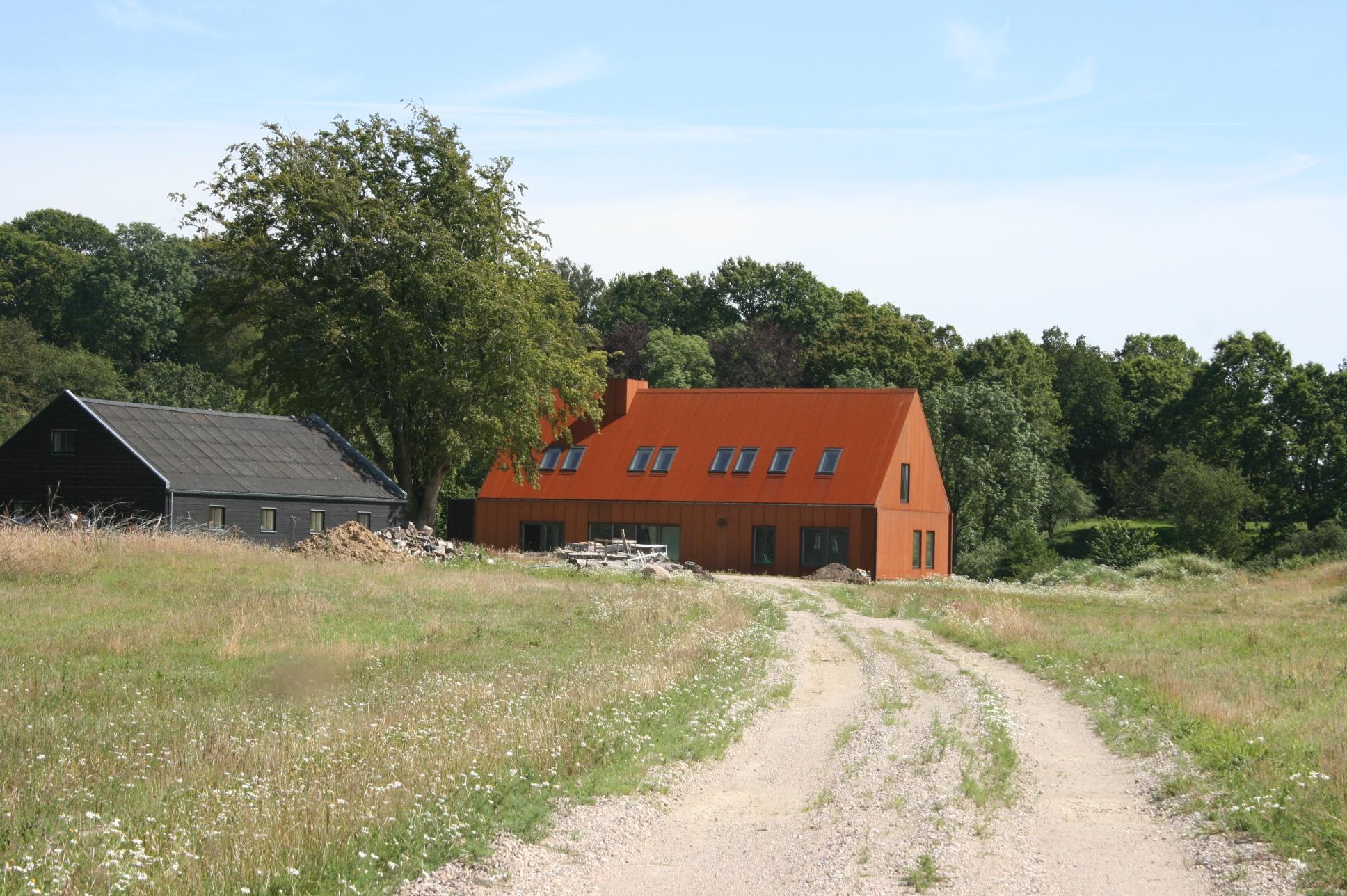 Ler- og marmormaling blev en del af det bæredygtige drømmehus