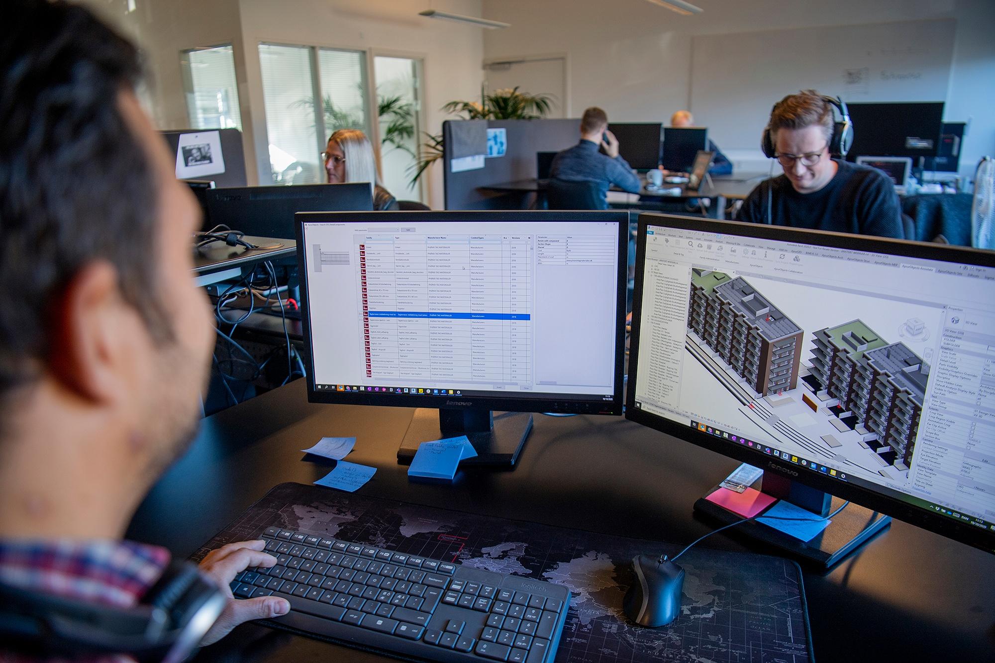 Danskudviklet BIM-værktøj sparer tegnestuen tid
