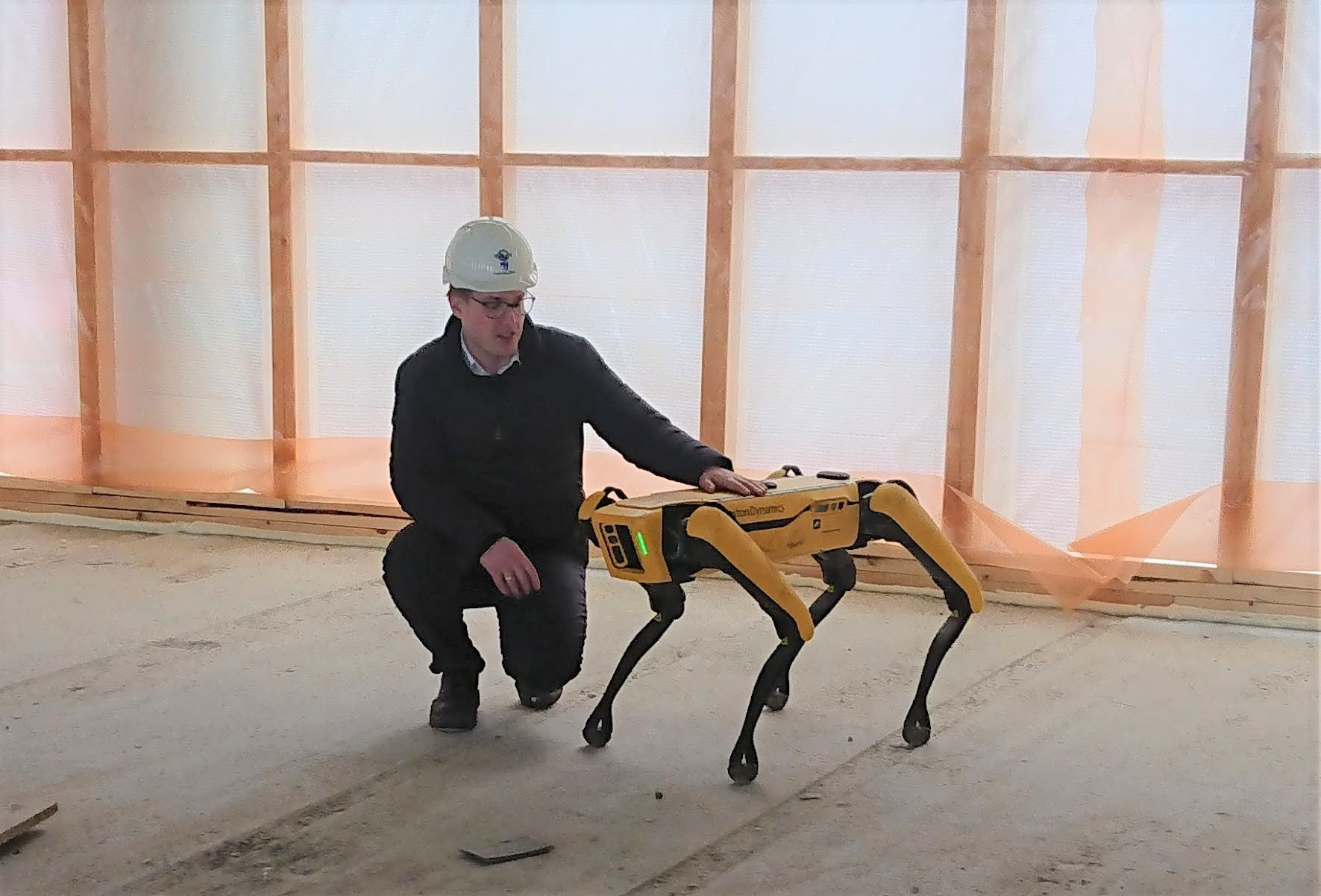 3D-scan leveret af servicerobotten SPOT