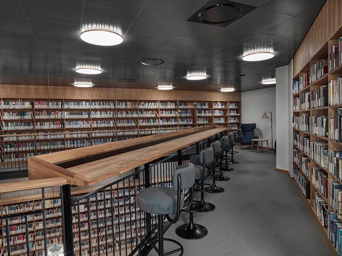 Smuk belysning til Aalborg Universitetsbibliotek
