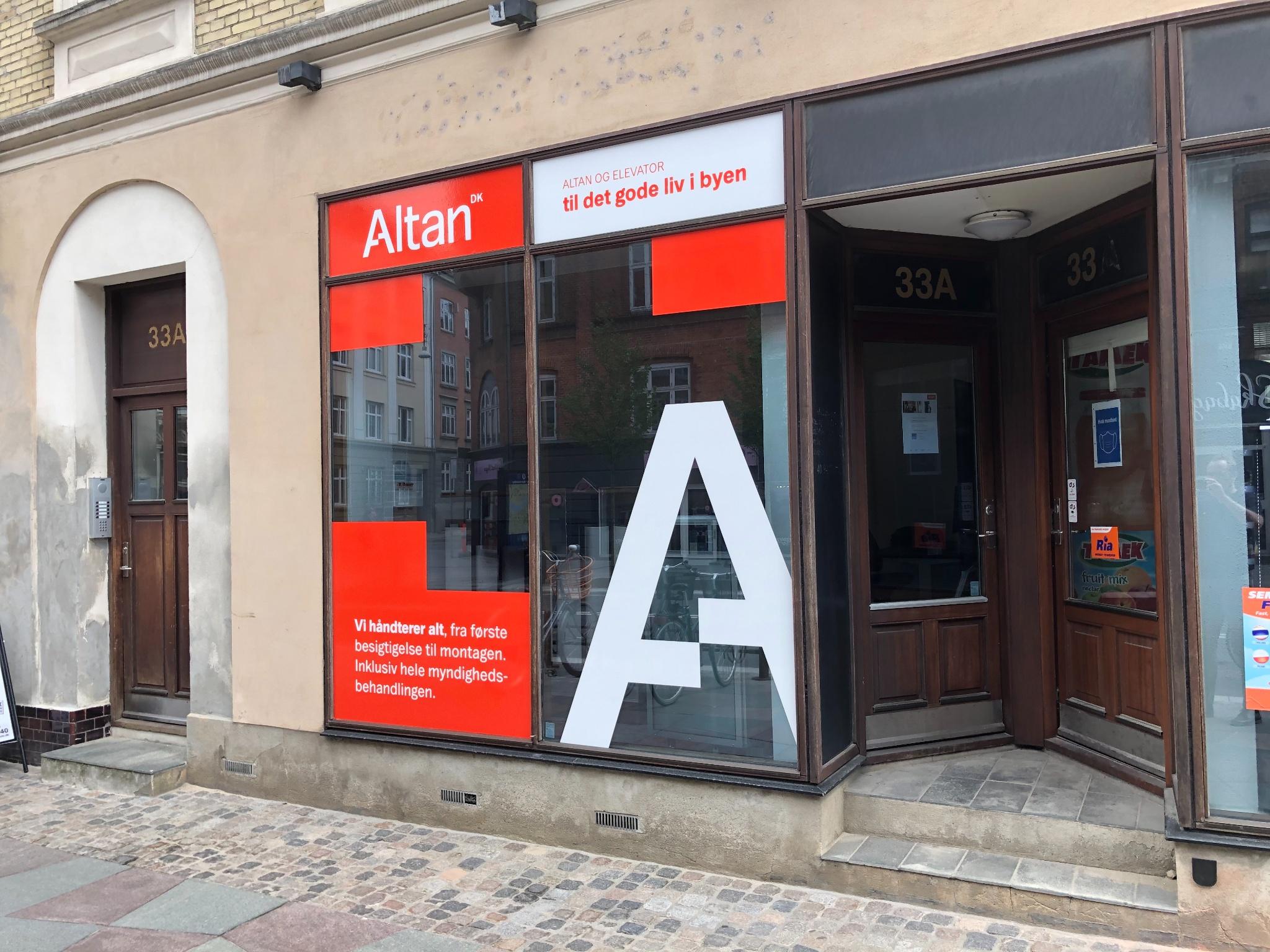 Altan.dk åbner nyt showroom i Aalborg