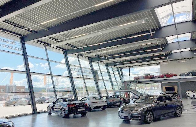 Skinnesystem til Selected Car Group i Køge