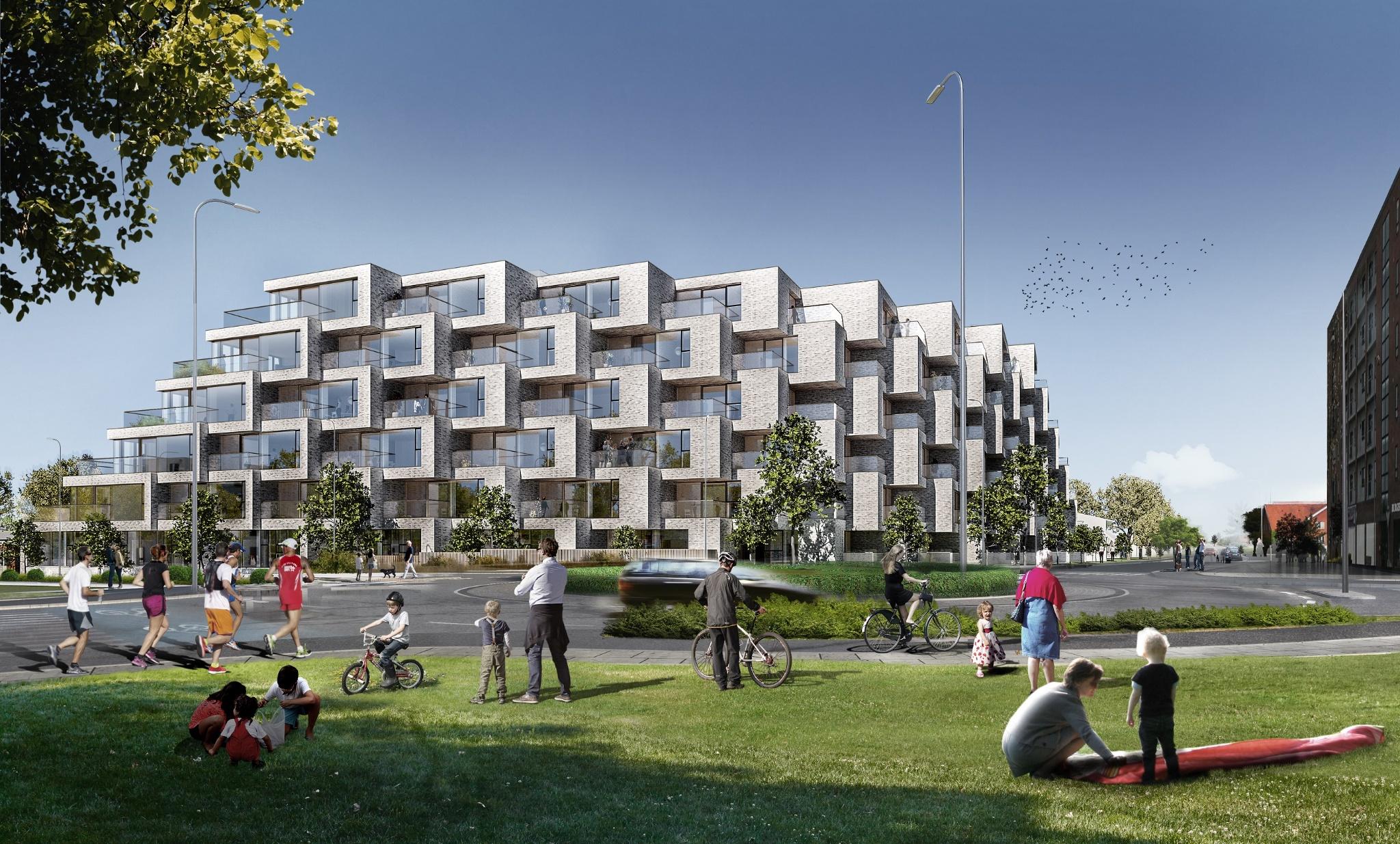 Spektakulært BIG-byggeri i Billund med betonelementer fra Contiga