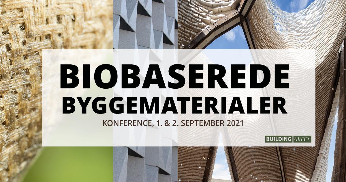 Sidste chance for rabat på konferencen Biobaserede Byggematerialer