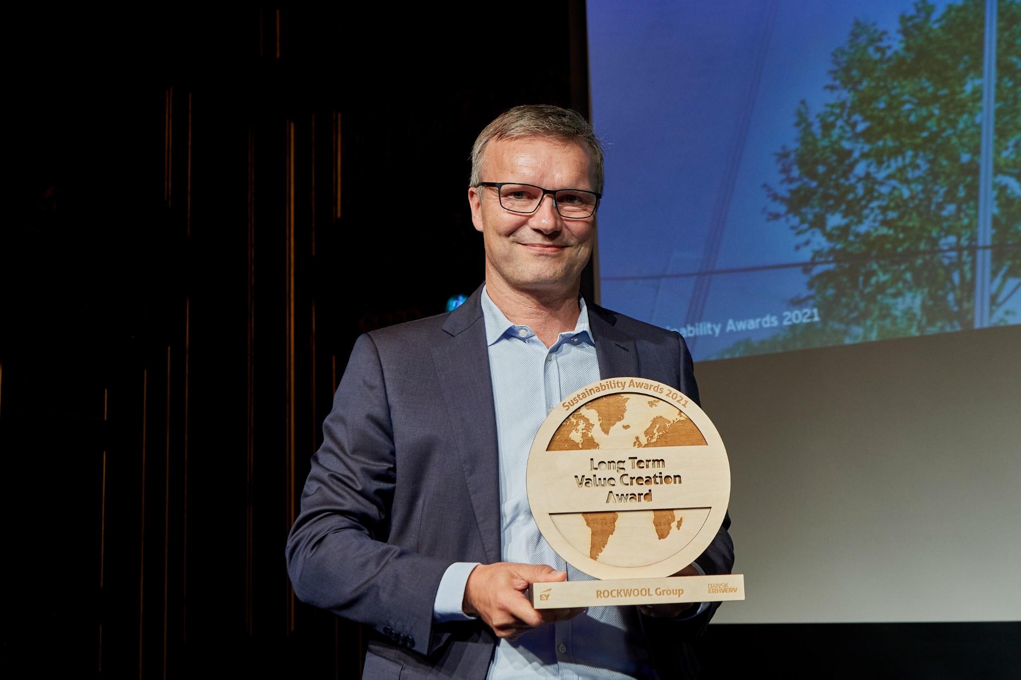 ROCKWOOL får bæredygtighedspris for at reducere byggebranchens klimapåvirkning