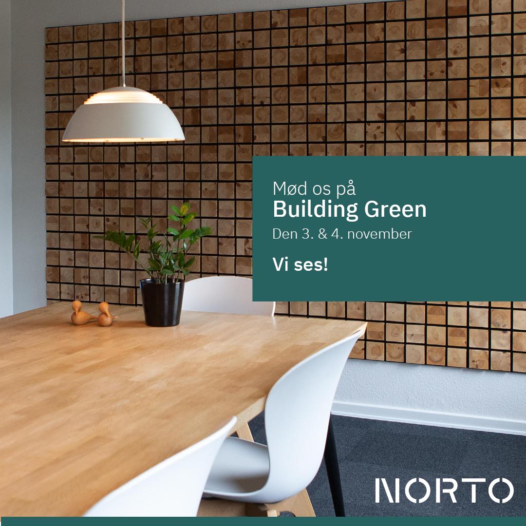 Mød NORTO på Building Green Copenhagen den 3 & 4 november