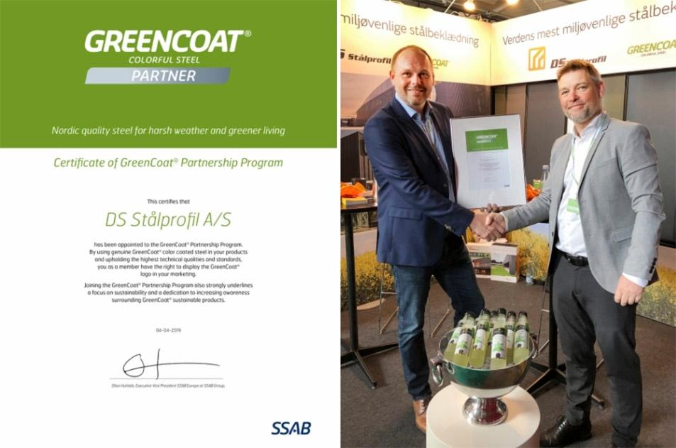 Greencoat aftale