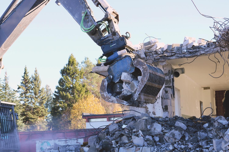 Steelwrist quick coupler_grapple_Demolition