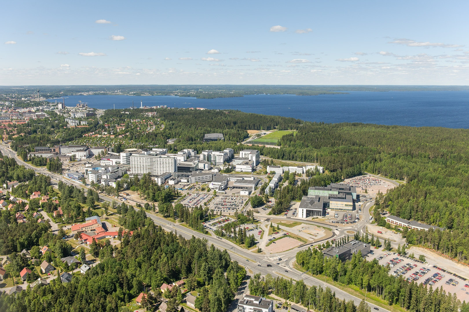 Tampere University Hospital Photo TAYS