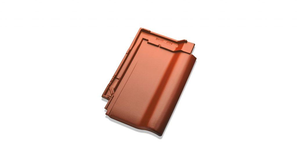 J11v silkeglaseret Toscanarød