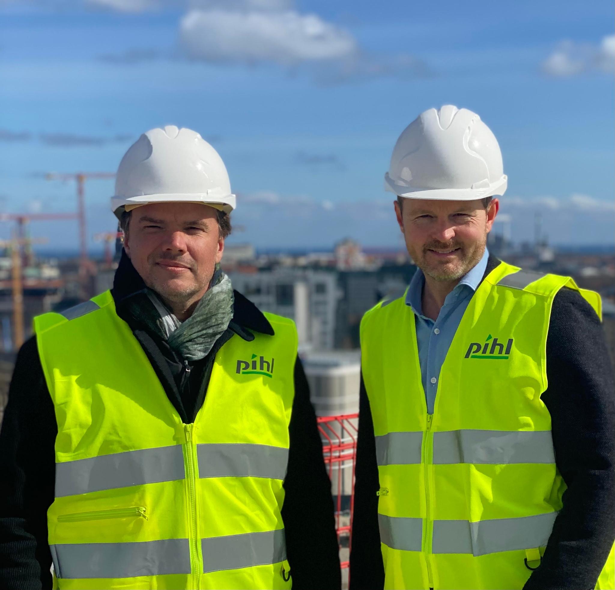 Bjarke Ingels og  Carsten Mindegaard