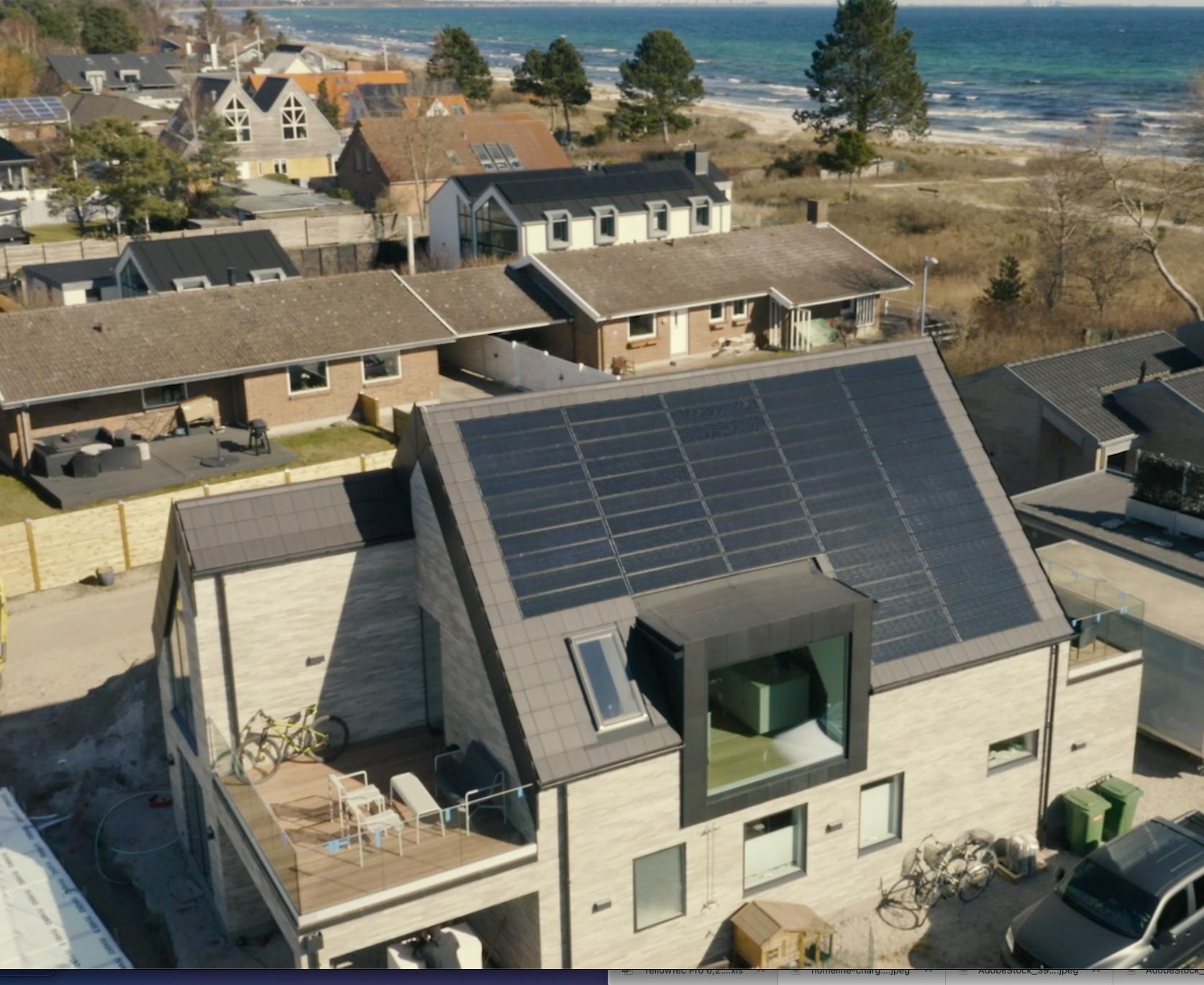 Solarstone panel