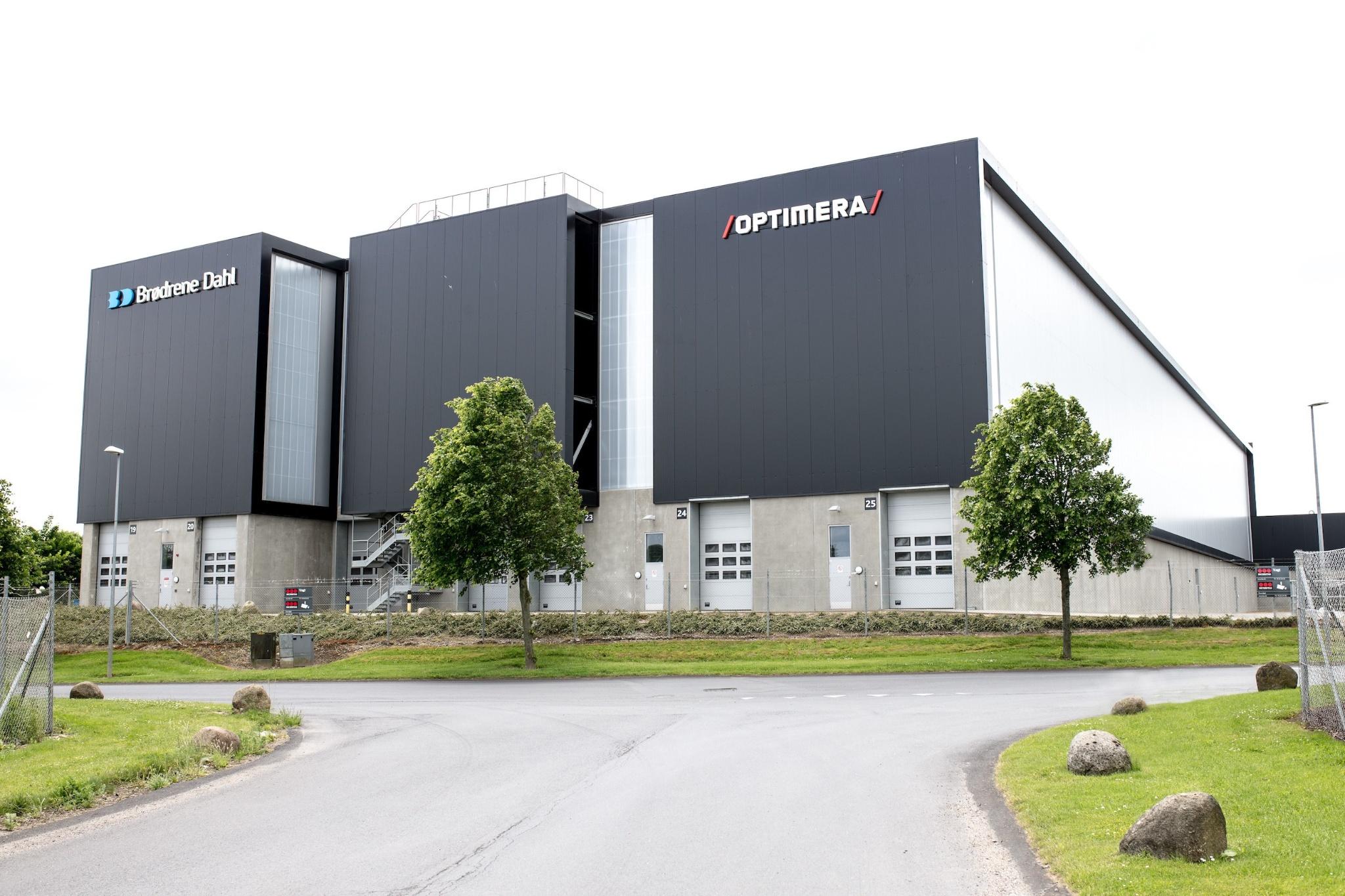 SGDDs logistikcenter i Randers