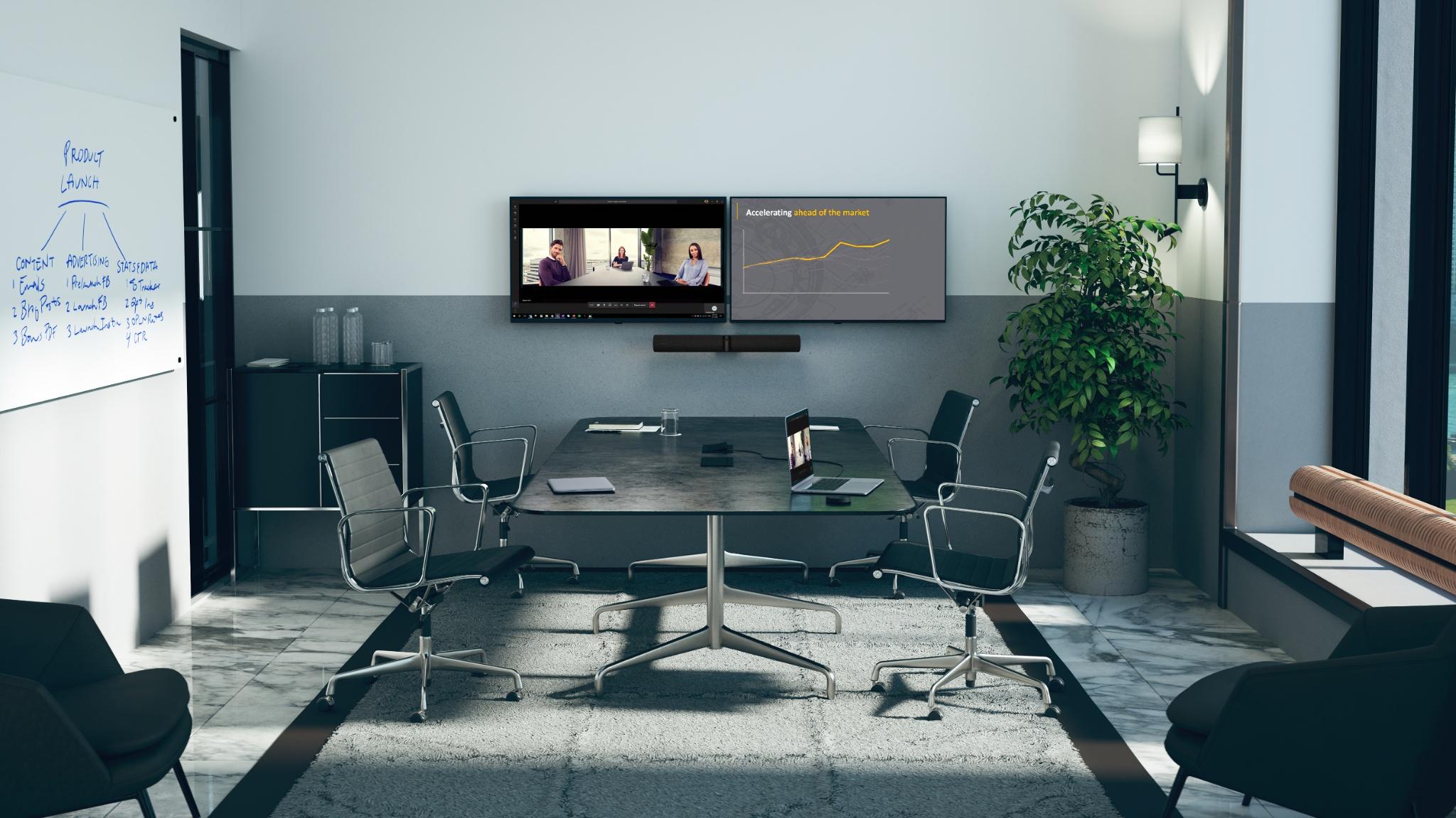 Jabra PanaCast 50 Black LE Meeting Room MS Teams Social Distance
