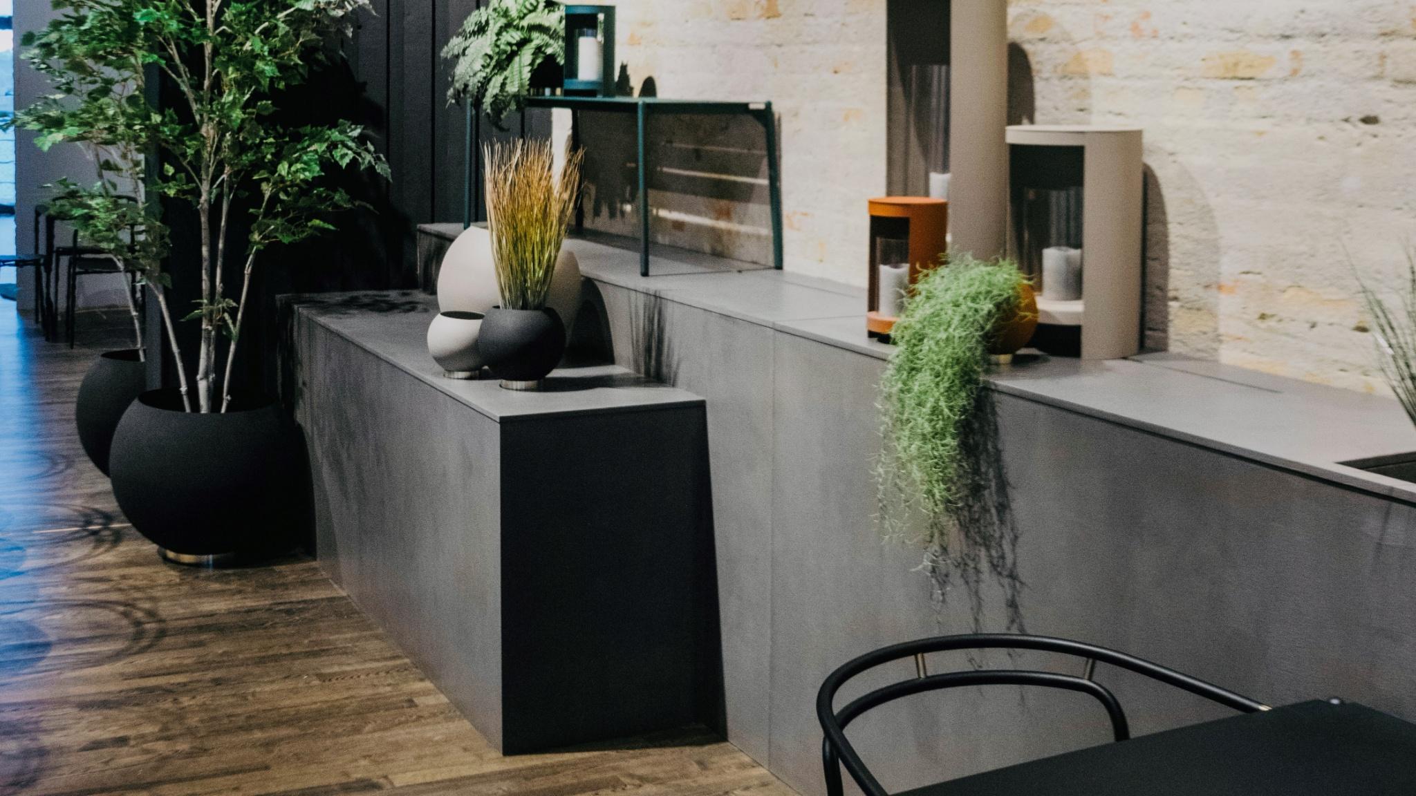 Interiør i beton
