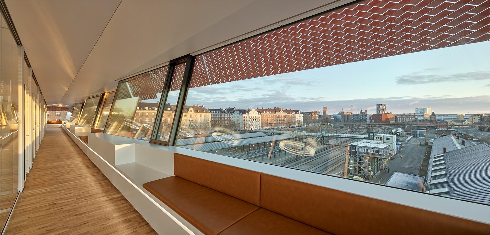 Udsynet fra Østerport II - Fotograf Adam Mørk for KHR Architecture