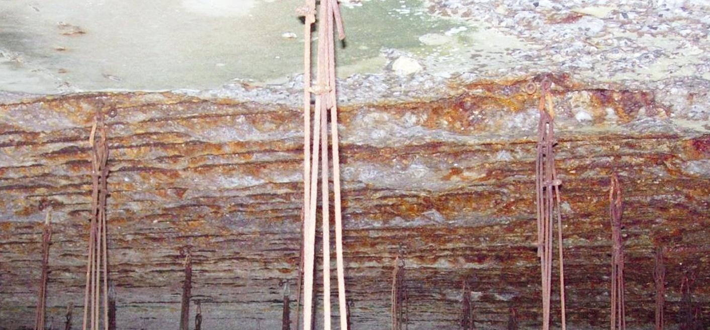 Armeringskorrosion i chloridholdig beton – Figur 9