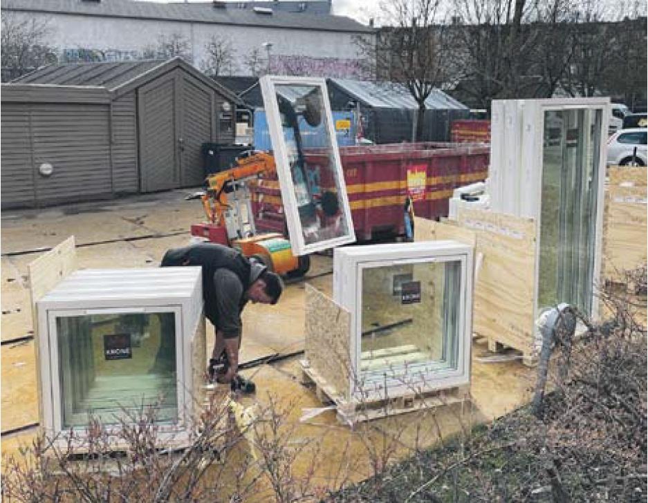 Nye krav har betydet tungere vinduer