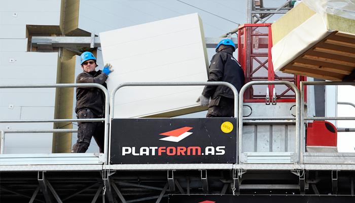 Platform sælger arbejdsplatforme til byggeprojekter