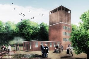 aumann Boe-Whitehorn Arkitekters aktuelle arbejde med vandkraftværket, Harteværket, der stammer fra 1917, og som er beliggende i Kolding Ådal
